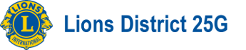 Lions District 25G Logo
