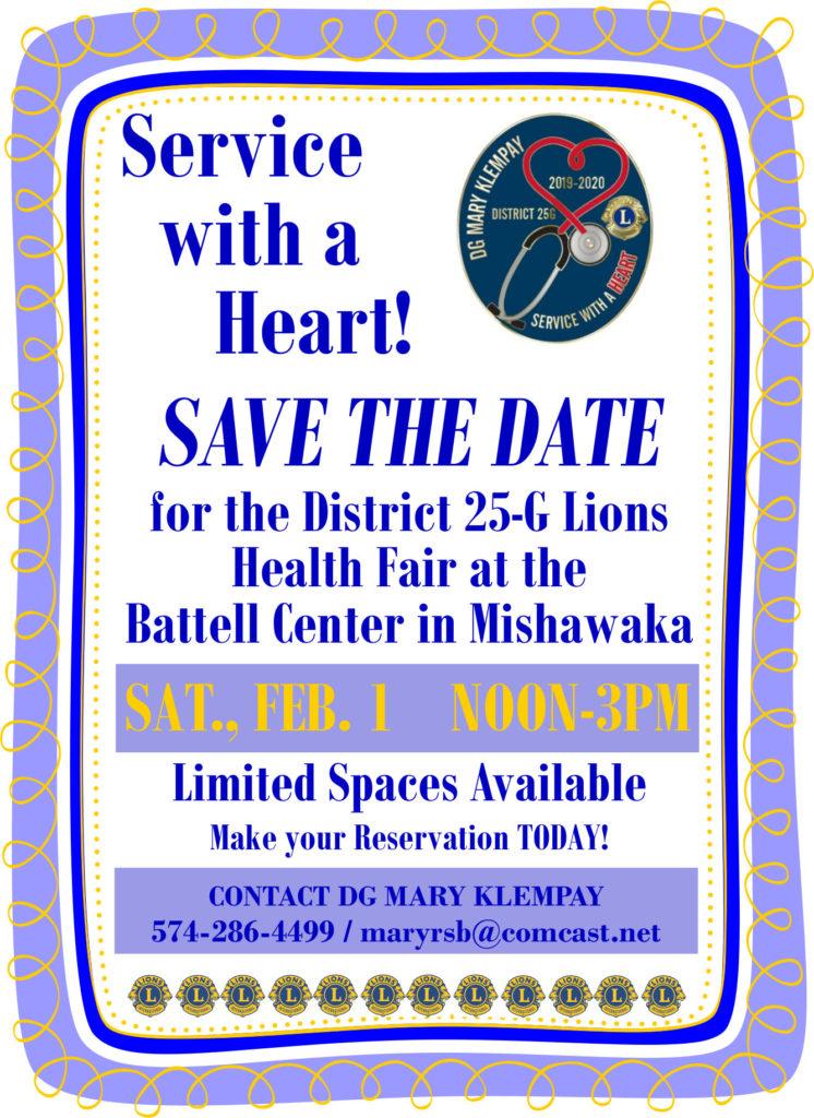 Lions Health Fair